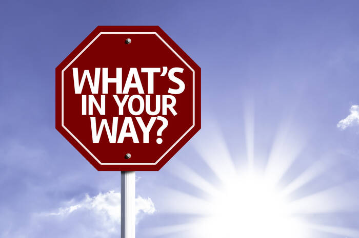 what is in your way sign
